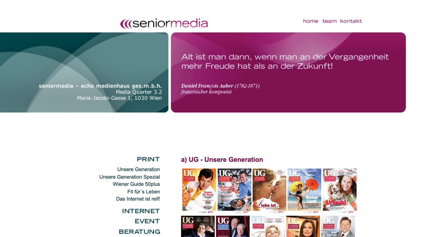 Senior Media | seniormedia.at | 2007 (Screen Only 03) © echonet communication