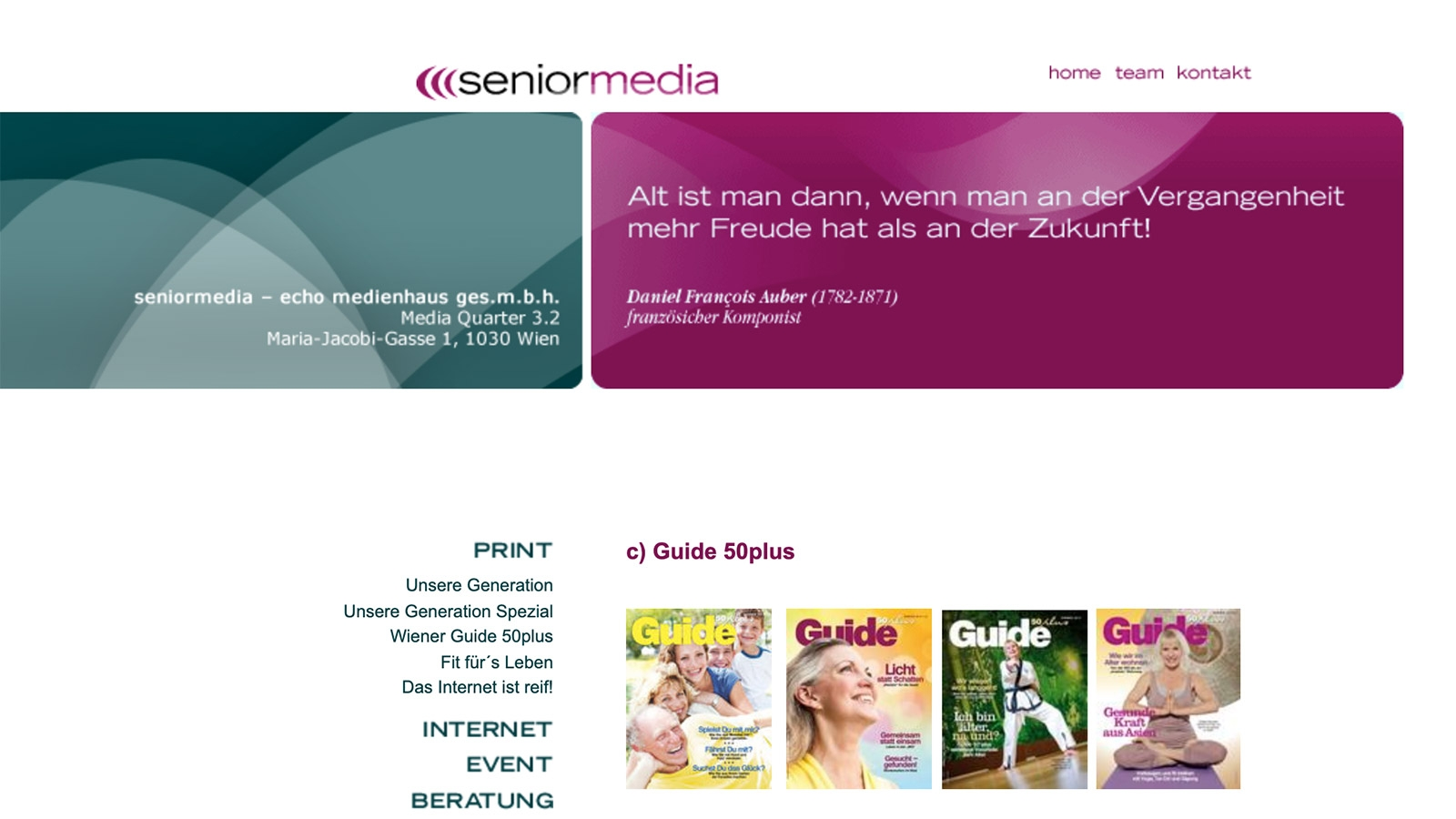 Senior Media | seniormedia.at | 2007 (Screen Only 04) © echonet communication