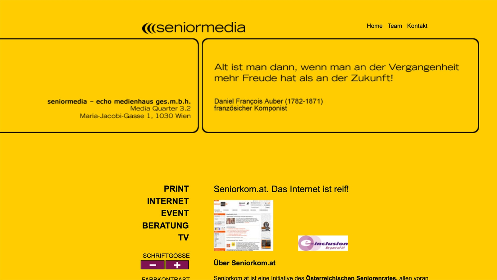 Senior Media | seniormedia.at | 2007 (Screen Only 05) © echonet communication